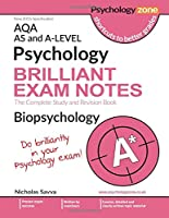 AQA Psychology BRILLIANT EXAM NOTES: Biopsychology: AS and A-level