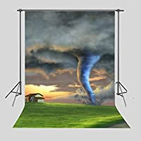 fuermor写真背景5x 7ft Fairy Tale Tornado写真バックドロップスタジオ小道具新生児子ビデオの撮影a183
