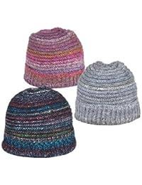 ノーブランド品 国産シルク混段染シャロット レディース帽子