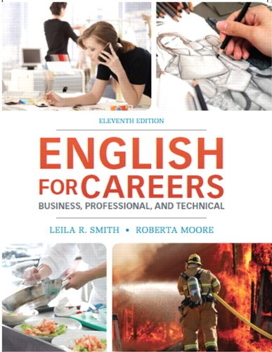 Download English for Careers: Business, Professional and Technical (11th Edition) 013261930X