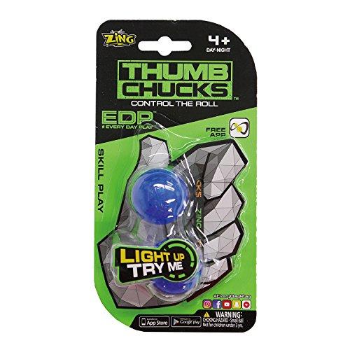 ZING TOYS サムチャックス Thumb Chucks 青 フィジェット Fidget EDPシリーズ ZT-005
