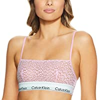 Calvin Klein Women's Modern Cotton Lace Unlined Bra