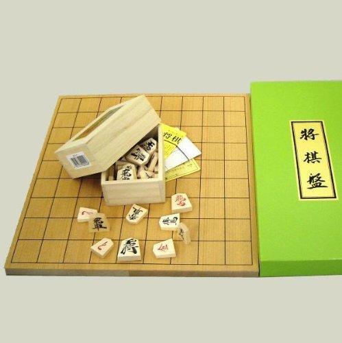 新桂5号折将棋盤と優良押駒のセット