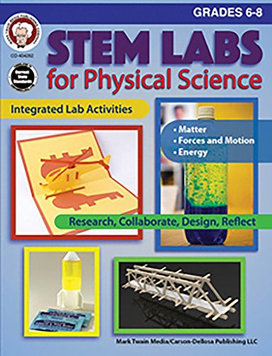 Stem Labs for Physical Science Grades 6 - 8