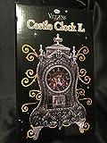 キャッスルクロック disney princess castle clock ディズニー アースラ フック船長 悪役 悪者