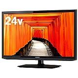 J24SK02 maxzen 24V型 USB外付けHDD録画対応 地上・BS・110度CSデジタルハイビジョン液晶テレビ