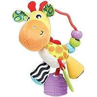Playgro 0186161 Giraffe Activity Rattle for Baby [並行輸入品]
