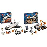レゴ(LEGO) シティ 超高速! 火星探査シャトル 60226 ブロック おもちゃ 男の子 & シティ 進め! 火星探査車 60225 ブロック おもちゃ 男の子【セット買い】