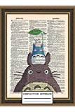 Composition Notebook: Tonari to Totoro Wide Ruled Journal For School Office or Home