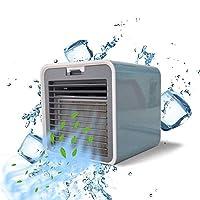 空気クーラー、携帯用エアコンの加湿器の清浄器、家庭の寝室のオフィスのナイトテーブルのためのUSBデスクトップのエアコン,Gray