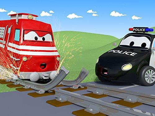 男の子の仕事? & 線路の故障そして, 消防車とパトカーのカーパトロール|子供向けのカー&トラックアニメ