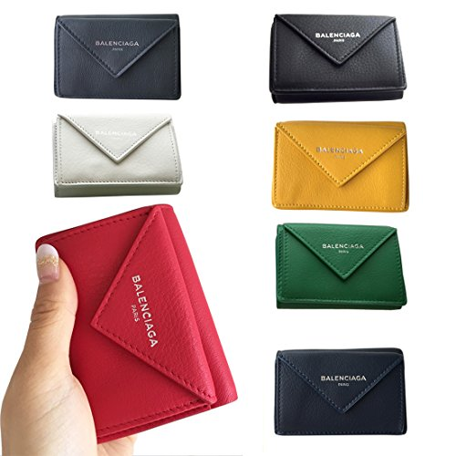 BALENCIAGA バレンシアガ ペーパーミニウォレット 三つ折り財布 【ブランドギフト包装】
