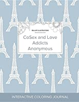 Adult Coloring Journal: Cosex and Love Addicts Anonymous (Sea Life Illustrations, Eiffel Tower)