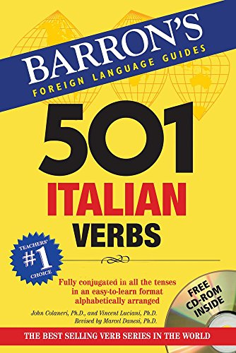 Download 501 Italian Verbs (Barron's 501 Verbs) 1438075219