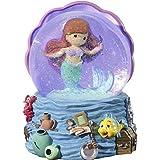 Precious Moments ディズニー ショーケースコレクション リトルマーメイド スノードーム ミュージカル 183471 ウォーターボール ワンサイズ マルチ