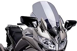 Puig 6483H SCREEN TOURING 【SMOKE】 YAMAHA FJR1300AS(13-15) プーチ スクリーン カウル オートバイ バイク パーツ