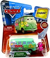 Disney Cars Lenticular Eyes Series 2 Fillmore with Organic Gas Cans Diecast Car [並行輸入品]