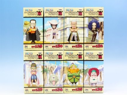 ワンピース ワールドコレクタブルフィギュアvol.16 ONE PIECE アニメ バンプレスト 全8種フルコンプセット
