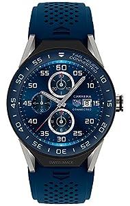 (タグホイヤー)TAG Heuer 腕時計 メンズ Modular Connected 2.0 Men`s Swiss Carrera Blue Rubber Strap Smart Watch 45mm SBF8A8012.11FT6077 男性 スマートウォッチ 時計[並行輸入品]gellmoll