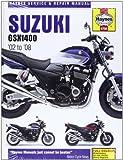 Suzuki GSX1400 Service and Repair Manual: 2002 to 2008 (Haynes Motorcycle Manuals)