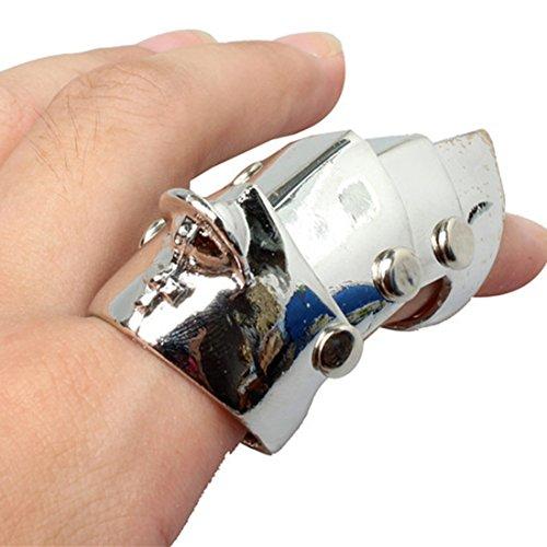 [해외]패션 인기 애니메이션 코스프레 펑크 고딕 반지 할로윈 액세서리 반지/Fashion Popular Animation Cosplay Punk Gothic Silver Ring Halloween Accessory Ring