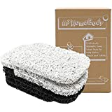 myHomeBody Soap Saver | Soap Lifting Pads for Soap Dish | Multi-Directional Weave, Efficient Draining Soap Bar Holder for Sho