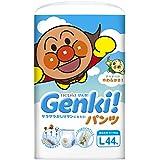 【パンツ Lサイズ】ネピアGENKI! (9~14kg)44枚 単品