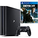 PlayStation 4 Pro ジェット・ブラック 1TB   + Detroit: Become Human セット