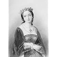 Queen Mary I, Aka Mary Tudor, Byname Bloody Mary,1516-1558. First Queen To Rule England In Her Own Right.Engraved By W.H.Egleton After A.Bouvier.From The Book The Queens Of England, Volume Ii By Sydney Wilmot. Published London Circa. 1890. Poster Print (11 x 16)