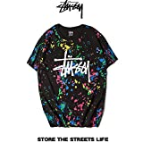 ステューシー stussy Tシャツ 半袖 メンズ レディース トップス プリント tee ブラック XXL [並行輸入品]