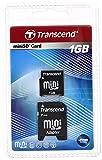 トランセンドジャパン 1GB MINI SD CARD TS1GSDM