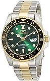 [テクノス]TECHNOS 腕時計 RONDA社ムーブ搭載 日付カレンダー付き グリーン&コンビ T2134TG メンズ 【正規輸入品】