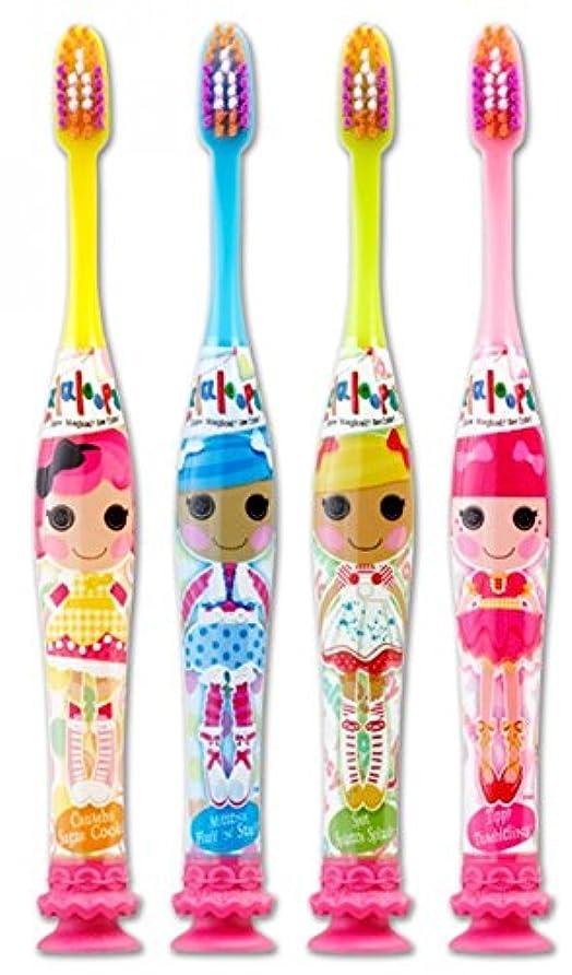 枝輝く精査するGum Lalaloopsy Manual Toothbrush - Ultra Soft - Colors Vary (3 Pack) by GUM