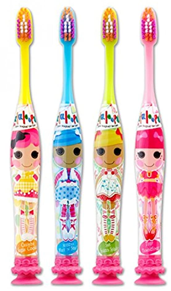 肥満ハード日Gum Lalaloopsy Manual Toothbrush - Ultra Soft - Colors Vary (3 Pack) by GUM