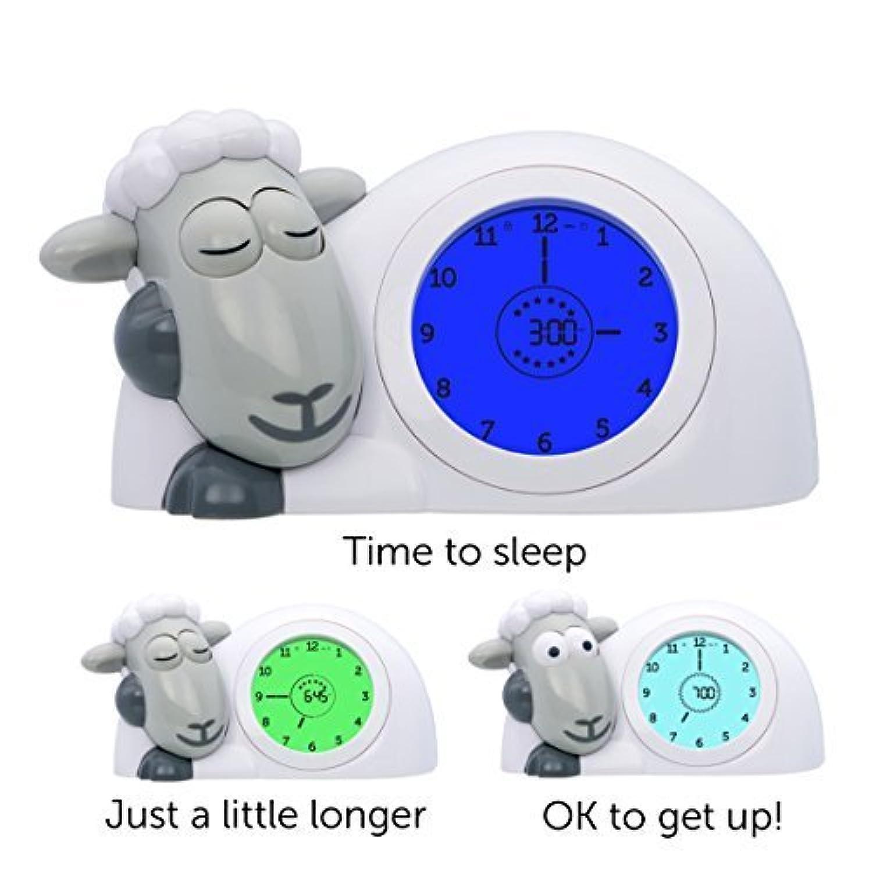 Zazu Kids, SAM Sleep trainer and Nightlight, Grey by Zazu Kids [並行輸入品]
