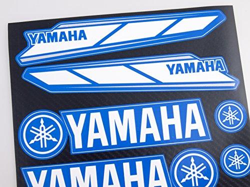 ヤマハステッカーデカール(30x20cmビニール)(BLUE)