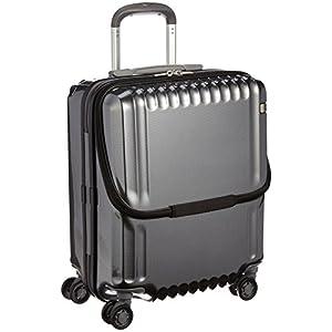 [エース] ace. スーツケース パリセイドZ 45cm 36L 3.3kg 機内持込可 双輪キャスター 05581 02 (ブラックカーボン)