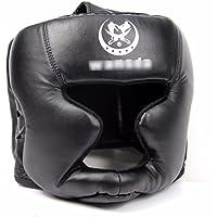 Walant ギア 練習用 ボクシング ヘッド ガード ヘルメット プロテクター ファイトキャップ 黒ヘッドギア十字