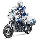Bruder 62731 bworld Scrambler Ducati Police Motorbike w Policeman