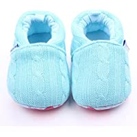 PanDaDa Spring and Autumn Toddler Baby Kids Boys Girls Loafers Knitted Crib Fashion Sneaker Anti-Slip Soft Sole Shoes