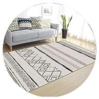 ZEMIN 廊下敷きカーペット ラグ じゅうた 無臭 マット エントランス、 マルチサイズカスタマイズ可能 (Color : A, Size : 0.6x2m)