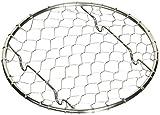 ステンレス 手編み 盛付網 丸(φ100)