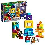 レゴ(LEGO) デュプロ エメットとルーシーのブロック・シティ 10895 レゴムービー