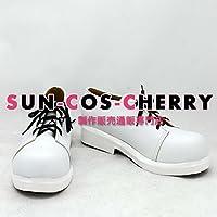 【サイズ選択可】コスプレ靴 ブーツ K-1416 スーパーダンガンロンパ2 さよなら絶望学園 澪田唯吹 みおだいぶき 男性25.5CM