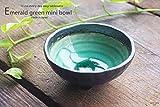 すごいエメラルドグリーンの魅惑 姫胡蝶の三ツ足ボール 和食器 おしゃれ 小鉢 ボウル 和皿
