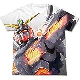 ガンダムUC(ユニコーン) ユニコーンガンダム フルグラフィックTシャツ ホワイト サイズ:L