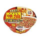 【販路限定品】日清食品 味仙 台湾ラーメン 120g×12個