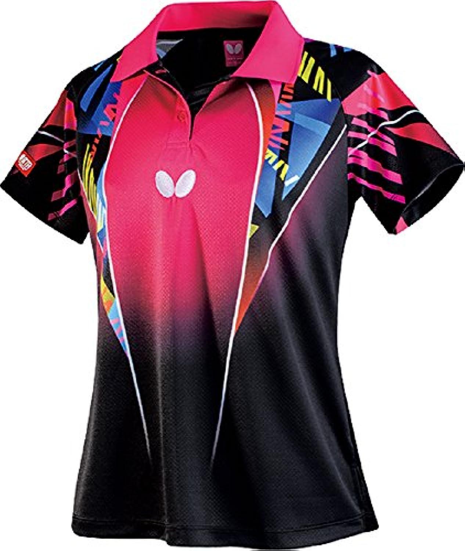 バタフライ(Butterfly) 卓球 ゲームシャツ レディース スペーシア?シャツ