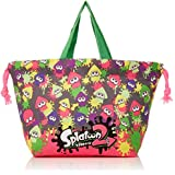 Skater lunch drawstring bag for children Splatoon 2 made in Japan KB7