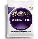 Martin マーチン アコースティックギター弦 3セットパック 80/20 Bronze M-175PK3 .011-.052 カスタムライト 【国内正規品】